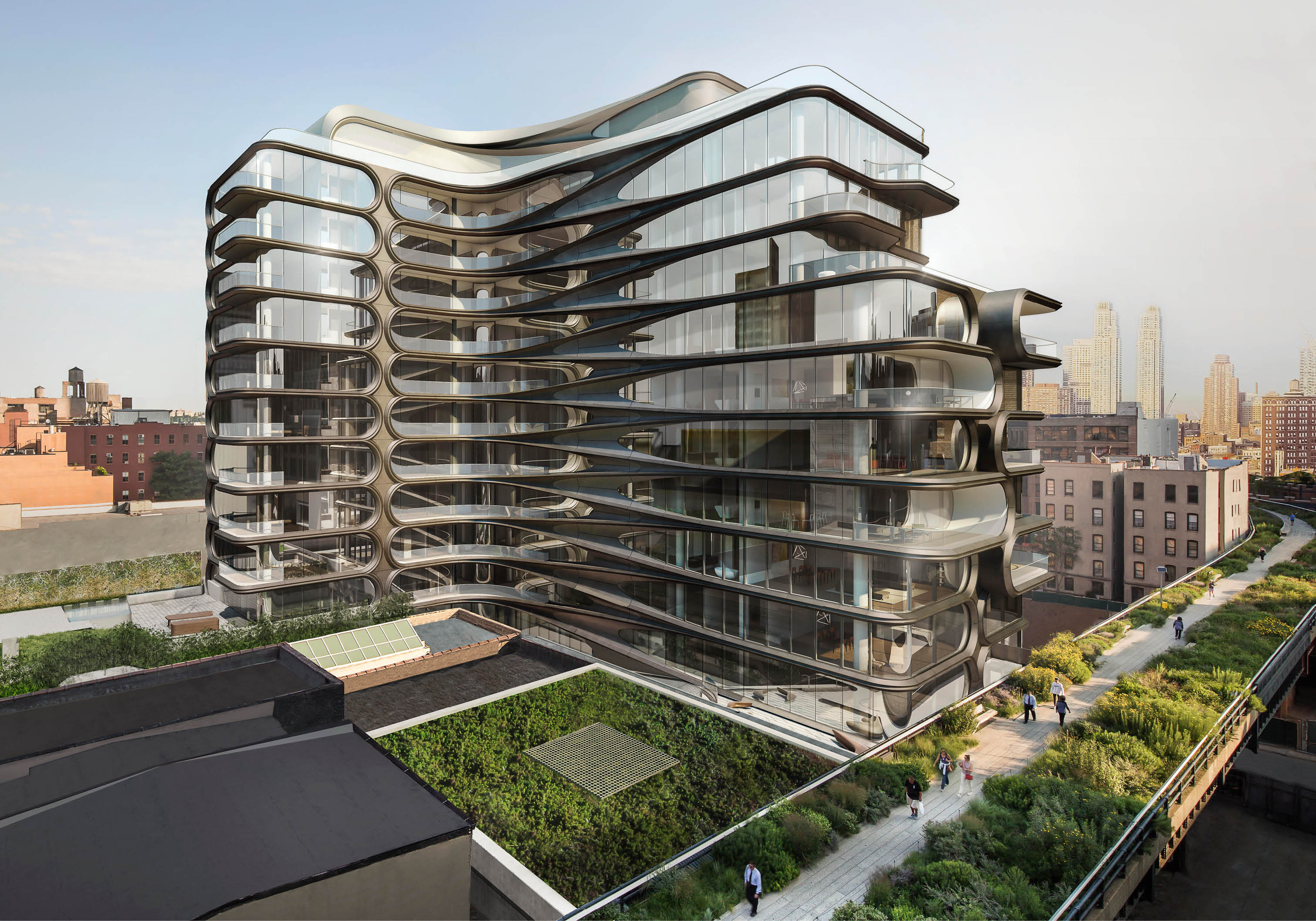 520 west 28th octopian for Zaha hadid new york apartment