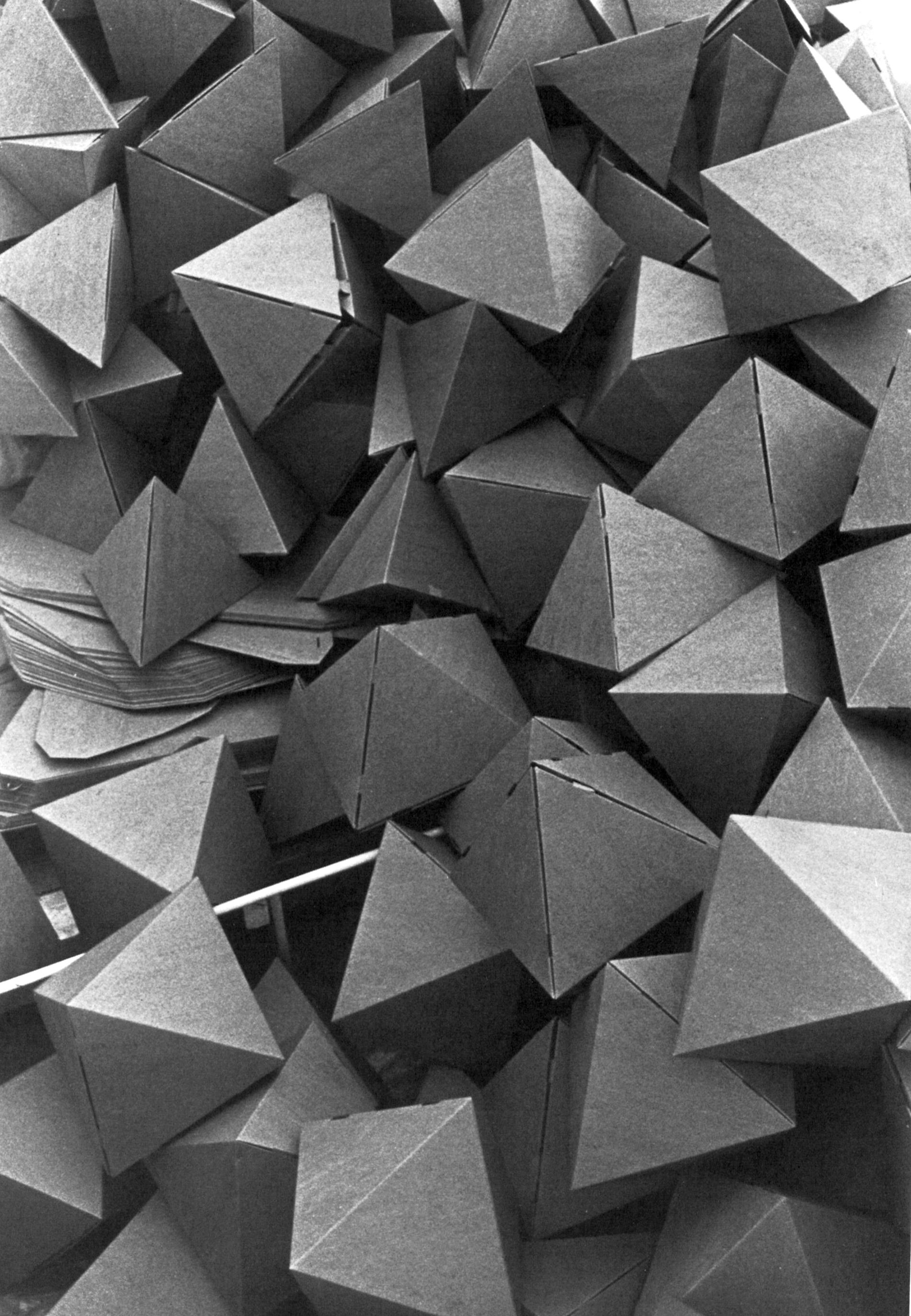 """Tony Smith """"Bat Cave"""" 1970 via theoctopian.com - Octopian"""